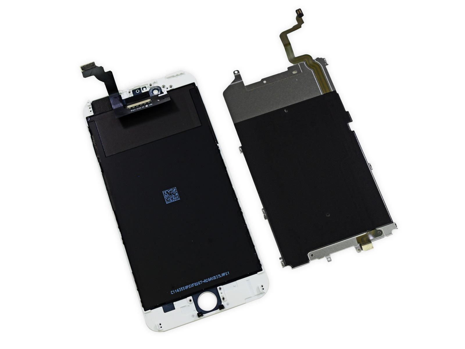 Замена LCD-модуля в сборе