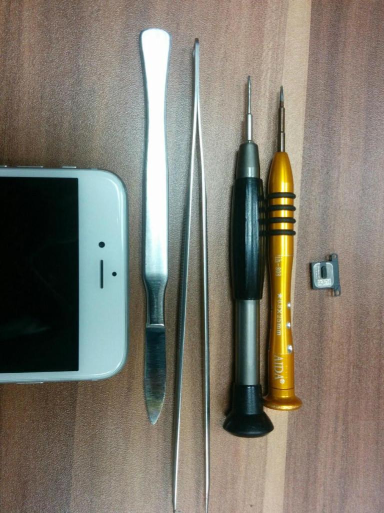 замена стекла iphone 6 в центре