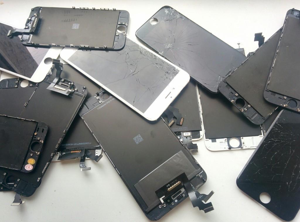 разбилось стекло iphone 6