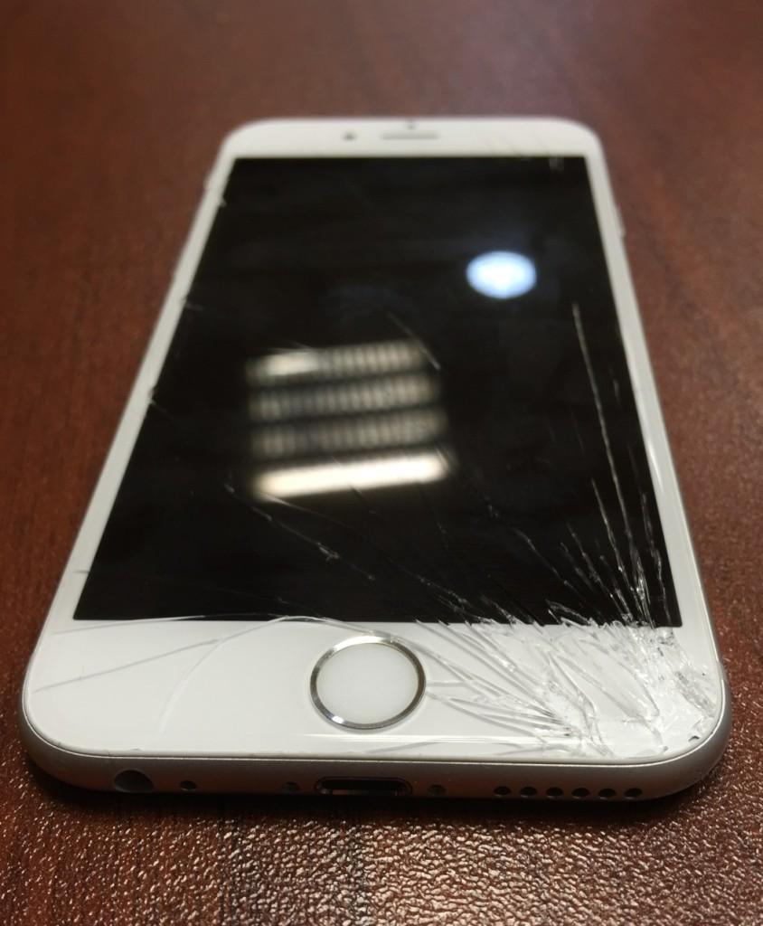 Замена стекла iphone 6s недорого