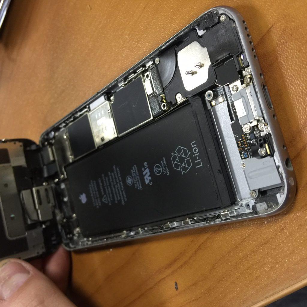 iphone 6 отключается на морозе