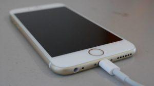 не заряжается iphone 6s
