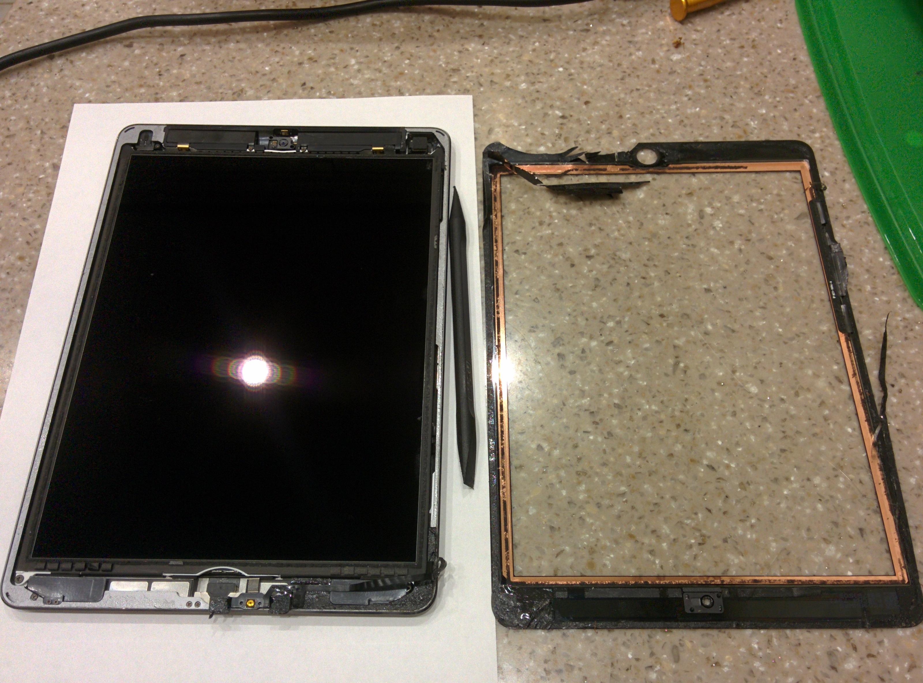 замена экрана и тачскрина на ipad mini