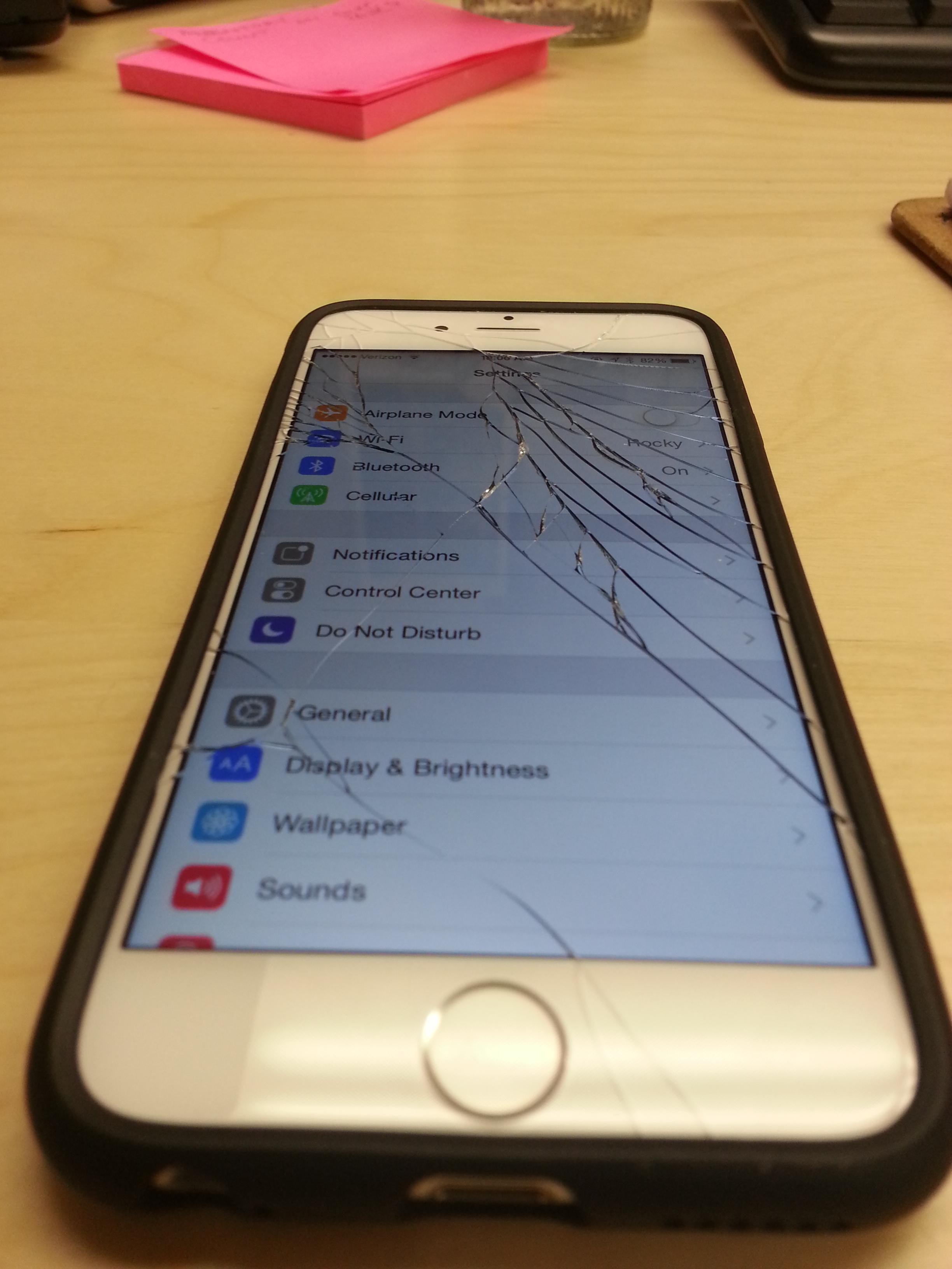 ремонт дисплей iphone 6